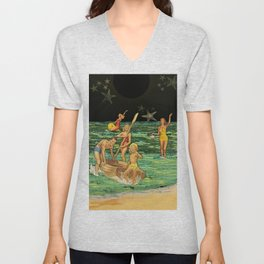 Seaside Star-field Unisex V-Neck