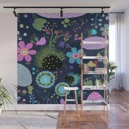 Sweet hedgehog Wall Mural