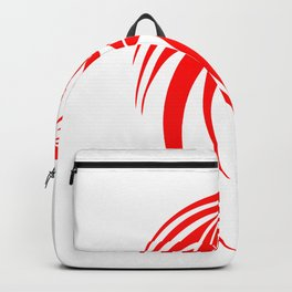 Dragosseria - red fantasy dragon Backpack