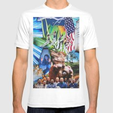Frogstomp MEDIUM Mens Fitted Tee White