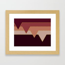 Wine Clouds #society6 #decor #buyart Framed Art Print