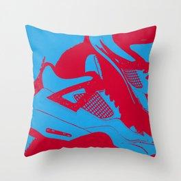 """Air Jordan 4 """"Cactus Jack"""" - Print 1 Throw Pillow"""