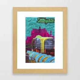 Des Halles 2 Framed Art Print