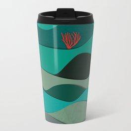 Layered Reef Metal Travel Mug