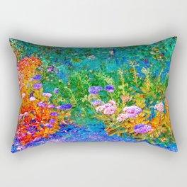 The Garden By Annie Zeno  Rectangular Pillow