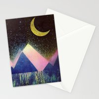Satellite Bloom Stationery Cards