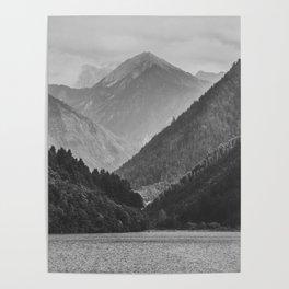 Wilderness landscape Poster