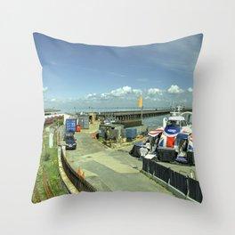 Ryde Rail - Craft Throw Pillow