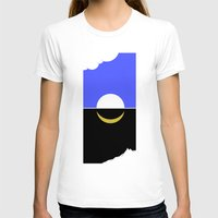 sun and moon T-shirts featuring The sun and moon by barmalisiRTB