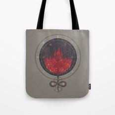 Fading Dahlia Tote Bag