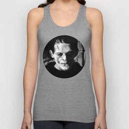 THE MONSTER of FRANKENSTEIN - Boris Karloff Unisex Tank Top