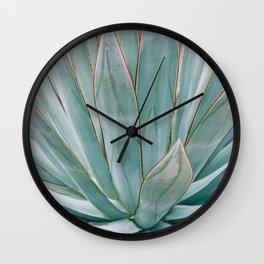 Minimalist Agave Wall Clock