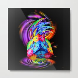 Creations in the color spectrum of the rainbow 3 Metal Print