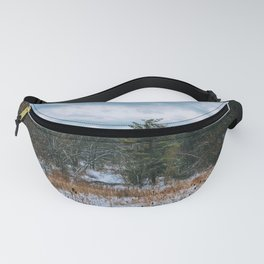 Vast field and forest Fanny Pack