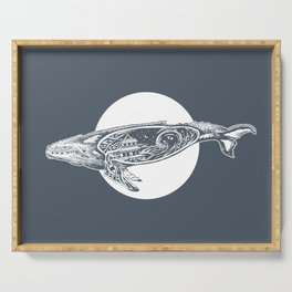 Saturn's Sea Serving Tray