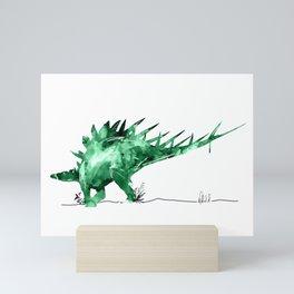 Stegosaurdae Mini Art Print