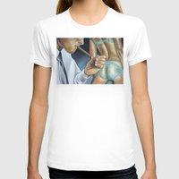 butt T-shirts featuring CIGAR BUTT by John McGlynn