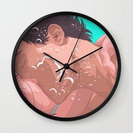 You Gotta Go Inwards Wall Clock