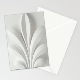 White sculpture Stationery Cards