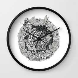 Pangolin's Dream Wall Clock