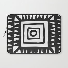 Tribal Print B&W- 02 Laptop Sleeve