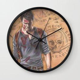 Unlocking the Past Wall Clock