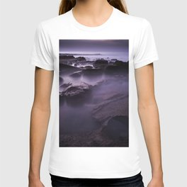 Purple Water Long Exposure (Color) T-shirt