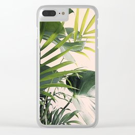 Tropical Mix Clear iPhone Case