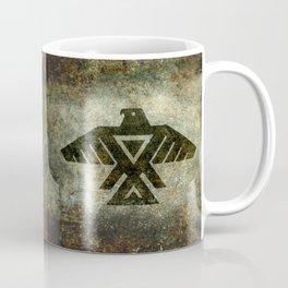 Thunderbird, Emblem of the Anishinaabe people - Vintage version Coffee Mug