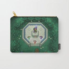 Zelda Mastesword Pixels Carry-All Pouch