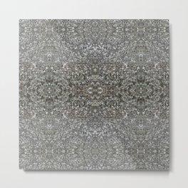 Facing Granite Pattern Metal Print