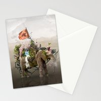 Lost Continent Stationery Cards