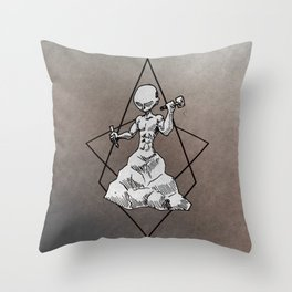 Build Yourself 2.0 Throw Pillow