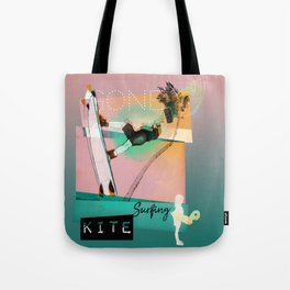 Gone kitesurfing Tote Bag