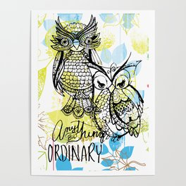 ANYTHING BUT ORDINARY Poster