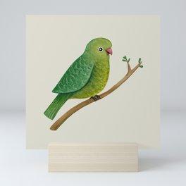 Cute Parrot Mini Art Print