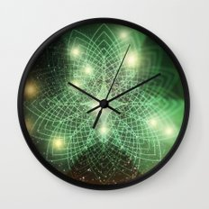 Geometry Dreaming Wall Clock
