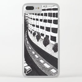 Architecture Stories Clear iPhone Case