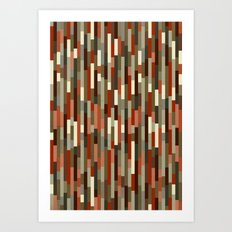 City by the Bay, Potrero Hill Art Print