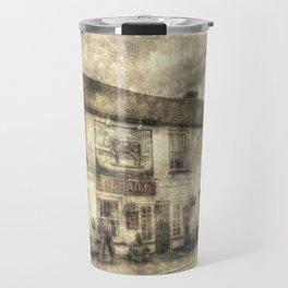 The Bull Pub Theydon Bois Vintage Travel Mug