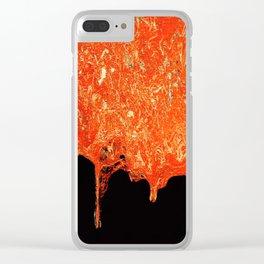Lava Clear iPhone Case