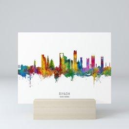 Riyadh Saudi Arabia Skyline Mini Art Print