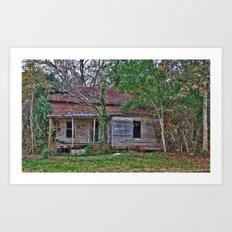Old Abandoned House Art Print