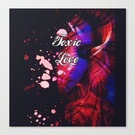 "Toxic Love - ""Classic Deceipt"" Canvas Print"