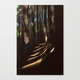 Path Through the Redwoods Canvas Print