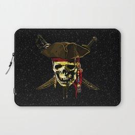 The Dark Eyes Of Pirates Laptop Sleeve