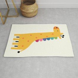 Giraffe Piano Rug