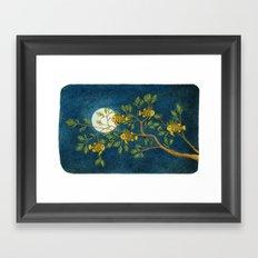 Pinecone Fish Framed Art Print