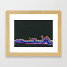 Flow of Traffic Framed Art Print