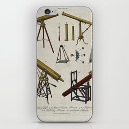 Optics; or, Various Telescopic Devices for Astronomical Use iPhone Skin
